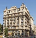 Arquitectura típica de Barcelona Foto de archivo libre de regalías