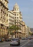 Arquitectura típica de Barcelona Imágenes de archivo libres de regalías