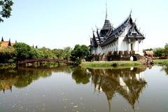Arquitectura tailandesa Fotos de archivo