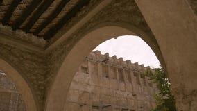 Arquitectura tradicional del souq del mercado de Oriente Medio metrajes