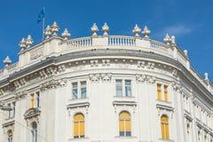 Arquitectura tradicional en ciudad vieja en Viena, Austria imágenes de archivo libres de regalías