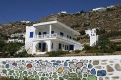 Arquitectura tradicional en Grecia Imagenes de archivo