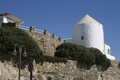 Arquitectura tradicional en Grecia Imagen de archivo libre de regalías