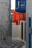 Arquitectura tradicional en Grecia Fotografía de archivo