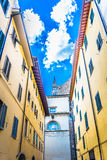 Arquitectura urbana en Toscana Florencia Imagen de archivo libre de regalías
