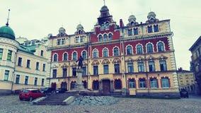 Arquitectura Vyborg foto de archivo