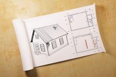 Arquitectura y concepto de la ingeniería ilustración del vector