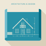 Arquitectura y diseño Imágenes de archivo libres de regalías