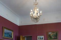 Arquitectura y diseño interior del palacio de Livadia Foto de archivo libre de regalías