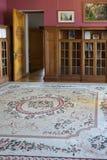 Arquitectura y diseño interior del palacio de Livadia Foto de archivo