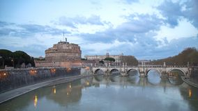 Arquitectura y esculturas antiguas, Roma de Roma Imágenes de archivo libres de regalías