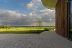Arquitectura y paisaje Foto de archivo libre de regalías
