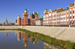 Arquitectura y tradiciones rusas Yoshkar-Ola Rusia fotos de archivo
