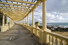 arquitectural的拱廊 库存照片