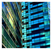 Arquitecture. Buildings for a business office Stock Photos