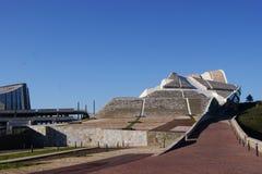 Arquitecture in Spanien Lizenzfreies Stockbild