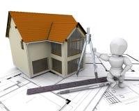 Arquiteto ilustração stock