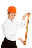 Arquiteto da jovem mulher Imagem de Stock