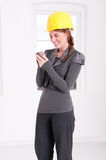 Arquiteto fêmea Fotografia de Stock