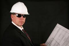 Arquiteto ou contratante Imagem de Stock