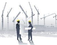 Arquitetos ilustração do vetor
