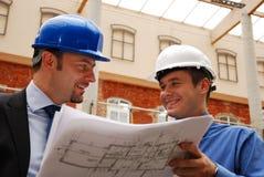 arquitetos de pensamento positivos Imagem de Stock Royalty Free