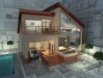Arquitetura. ilustração do vetor