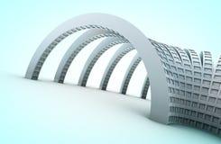 arquitetura 3d Foto de Stock