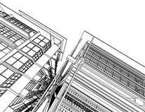 Arquitetura abstrata Imagem de Stock Royalty Free
