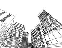 Arquitetura abstrata Foto de Stock