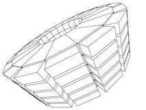 Arquitetura abstrata Imagem de Stock