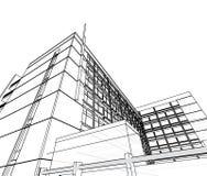 Arquitetura abstrata Foto de Stock Royalty Free