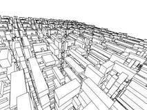 Arquitetura abstrata Fotos de Stock Royalty Free