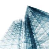 Arquitetura abstrata Fotografia de Stock Royalty Free