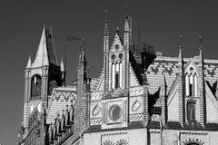 Arquitetura agradável em Bromberg. Imagens de Stock Royalty Free