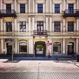 Arquitetura agradável em Lodz, Polônia Fotos de Stock