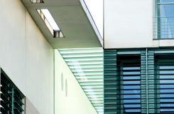 Arquitetura alemão moderna Fotografia de Stock Royalty Free