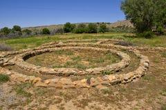 Arquitetura ancestral de Puebloan foto de stock