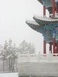 Arquitetura antiga chinesa local Fotos de Stock