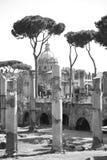 Arquitetura antiga de Roma, Roma Fotografia de Stock