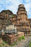 Arquitetura antiga em Ayutthaya Imagens de Stock