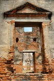 Arquitetura antiga Wat Pra Sri Ratana Mahatat do pagode em Lopbur Imagem de Stock Royalty Free