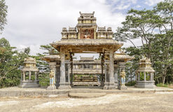 arquitetura Asiático-inspirada Foto de Stock Royalty Free
