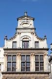 Arquitetura belga tradicional em Bruxelas Imagens de Stock