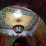 Arquitetura bonita da cidade fortificada velha Medina C4marraquexe imagens de stock royalty free