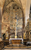 Arquitetura bonita da igreja Foto de Stock