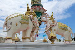 Arquitetura budista tailandesa Imagens de Stock Royalty Free