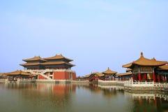Arquitetura chinesa fotografia de stock royalty free