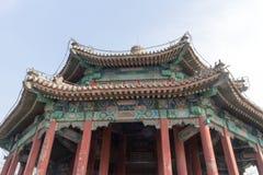 Arquitetura chinesa comum Foto de Stock Royalty Free