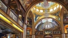 Arquitetura Christian Orthodox Church Interior video estoque